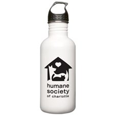 Humane Society of Charlotte Water Bottle