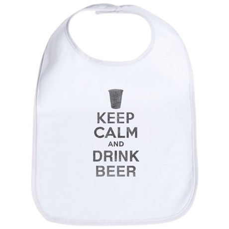 Keep Calm and Drink Beer Bib