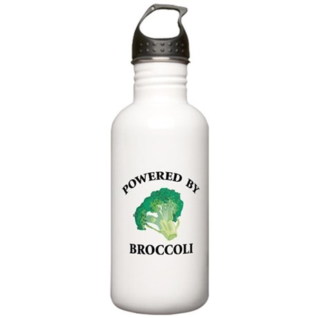 Powered By Broccoli Stainless Water Bottle 1.0L