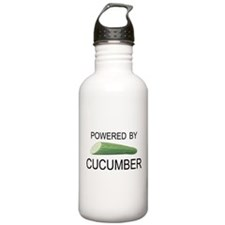 Powered By Cucumber Water Bottle
