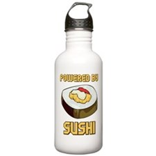 Powered By Sushi Water Bottle