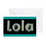 Lola Custom Greeting Cards (Pk of 10)