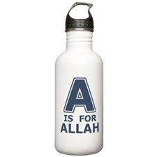 A is for Allah Water Bottle