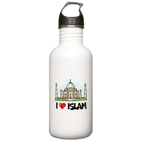 I Love Islam Stainless Water Bottle 1.0L