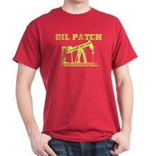 Oil Patch Pump Jack T-Shirt,Oil,Gas,Gift