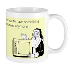 Used Christmas Gift Mug