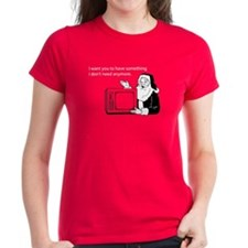 Used Christmas Gift Women's Dark T-Shirt
