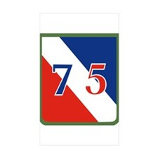 Funny 75 Decal