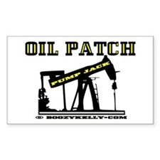 Oil Patch Pump Jack Decal