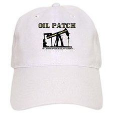 Oil Patch Pump Jack Baseball Cap