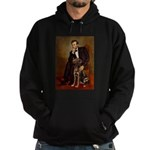 Lincoln / Chocolate Lab Hoodie (dark)