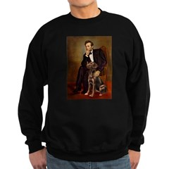 Lincoln / Chocolate Lab Sweatshirt (dark)