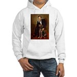 Lincoln / Chocolate Lab Hooded Sweatshirt