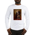 Lincoln / Chocolate Lab Long Sleeve T-Shirt