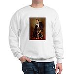 Lincoln / Chocolate Lab Sweatshirt