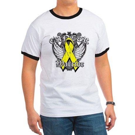 Sarcoma Cancer Warrior Ringer T