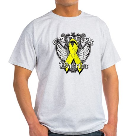 Sarcoma Cancer Warrior Light T-Shirt