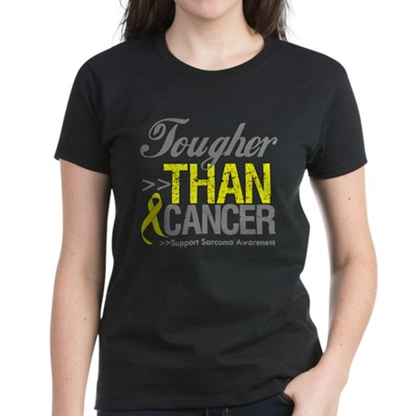 Tougher Than Cancer Women's Dark T-Shirt