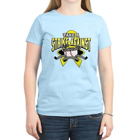 Take a Strike Sarcoma Cancer Women's Light T-Shirt