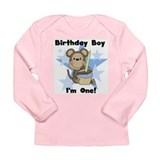 Monkey 1st Birthday Long Sleeve Infant T-Shirt