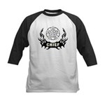 Fire Chief Tattoo Kids Baseball Jersey