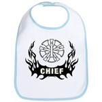 Fire Chief Tattoo Bib
