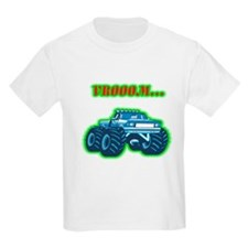 Monster Truck Kids T-Shirt
