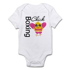 Boxing Chick Infant Bodysuit