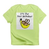 Twin Boys 1st Birthday Infant T-Shirt