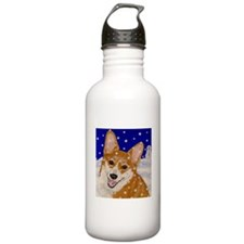 Winter Corgi Water Bottle