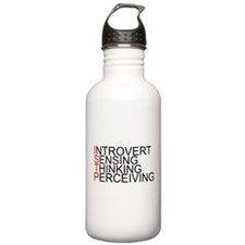 ISTP Spelled Out Sports Water Bottle