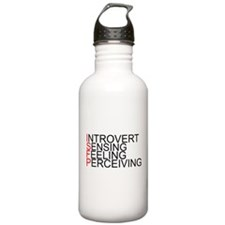ISFP Spelled Out Sports Water Bottle