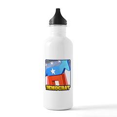 3D Democrat Water Bottle
