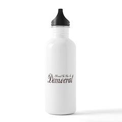 Vintage Democrat Water Bottle