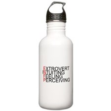 ENFP Spelled Out Sports Water Bottle