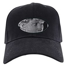 David with Michelangelo Quote Baseball Hat