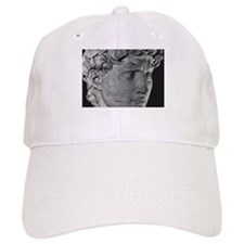 David with Michelangelo Quote Baseball Cap