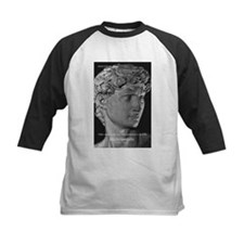 David with Michelangelo Quote Tee