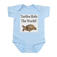 TURTLES RULE! Infant Bodysuit