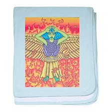 Archangel Michael baby blanket