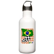 Goal Brazil! Water Bottle