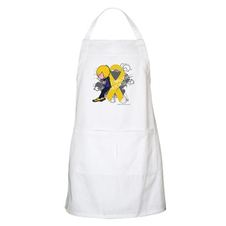 Childhood Cancer Sucks 2 Apron