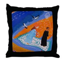 Beautiful Salat Design Pillow