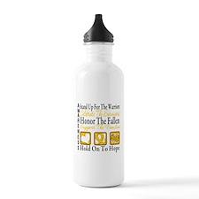 Childhood Cancer StandUp Water Bottle