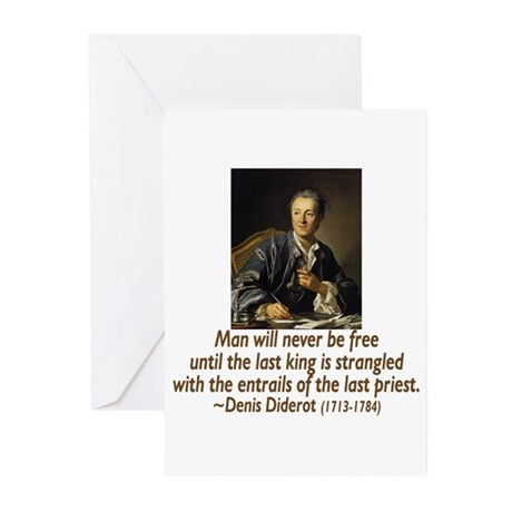 No Kings, No Priests Greeting Cards (Pk of 20)
