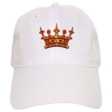 Gold Leaf Crown Baseball Cap