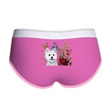 Westie Terrier in the Garden Women's Boy Brief