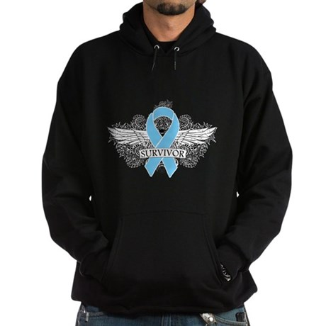 Tattoo Prostate Cancer Hoodie (dark)