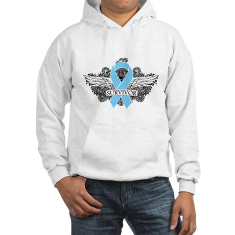 Tattoo Prostate Cancer Hooded Sweatshirt