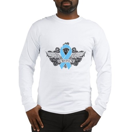 Tattoo Prostate Cancer Long Sleeve T-Shirt